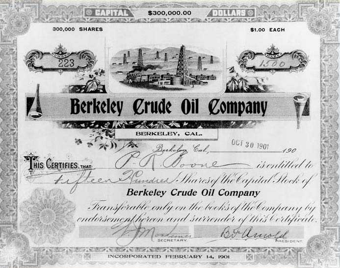 Berkeley Crude Oil Company