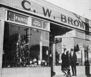 Clarence Brown Hardware store
