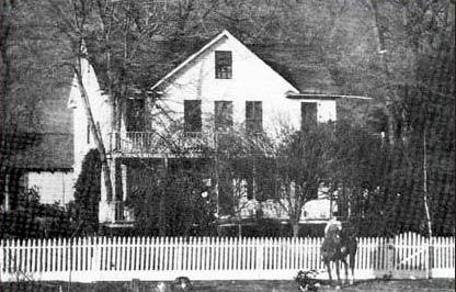 Nathaniel Jones' home