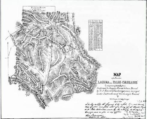 Lafayette map