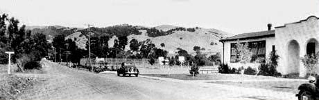 Moraga Road, 1935