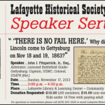 Please Join Us in Celebrating the 150th Anniversary of Abraham Lincoln's Gettysburg Address