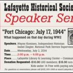 Upcoming Speaker Series on Port Chicago Disaster