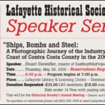 Upcoming Speaker Series: Ships, Bombs and Steel