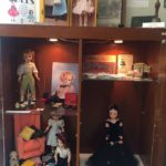Our Current Display On Madame Alexander Dolls