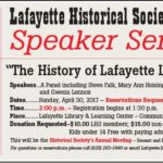 Speaker Series: The History of Lafayette Libraries