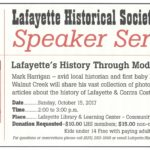 Speaker Series: Lafayette's History Through Modern Media